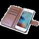 CELLY Wally pouzdro typu kniha pro Apple iPhone 7, PU kůže, černá