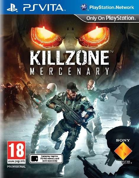 Killzone Mercenary (PS Vita)