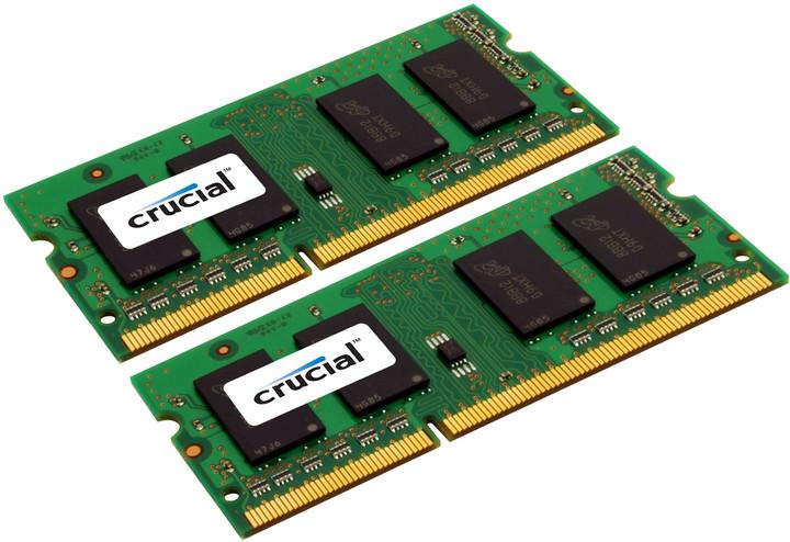 Crucial 4GB (2x2GB) DDR3 1600 SO-DIMM