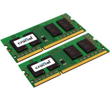 Crucial 4GB (2x2GB) DDR3 1600 SO-DIMM CL 11 - CT2KIT25664BF160B