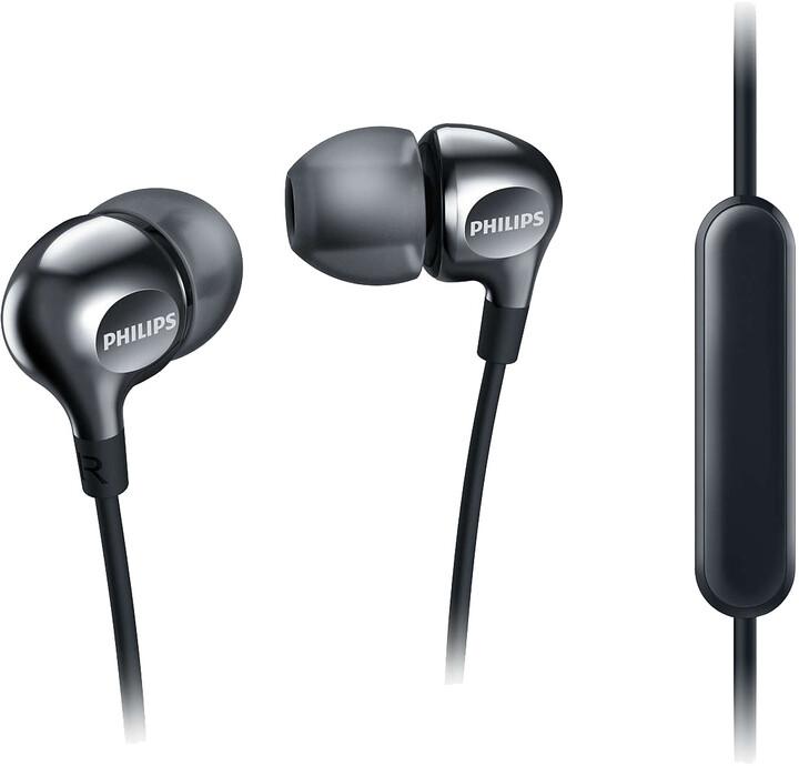 Philips SHE3705BK/00, černá