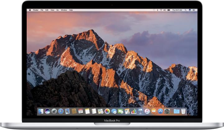 Apple MacBook Pro 13, 2.3 GHz, 256 GB, Silver (2017)