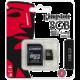 Kingston Micro SDHC 8GB Class 10 UHS-I + SD adaptér