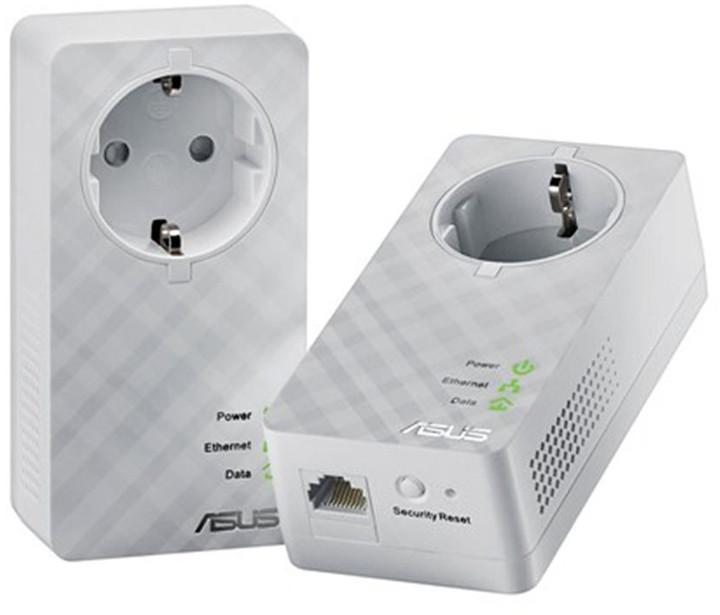 ASUS HomePlug 600Mbps Powerline adapter (2ks)