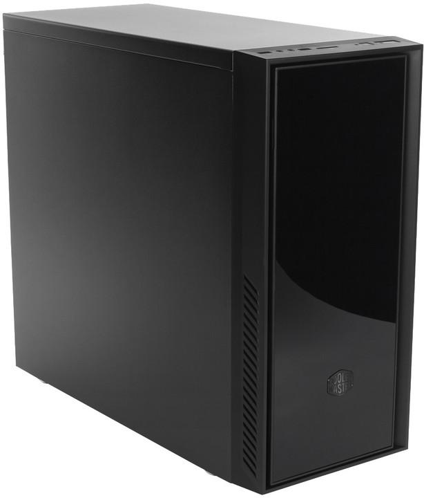 CoolerMaster Silencio 551, odhlučněný, černá
