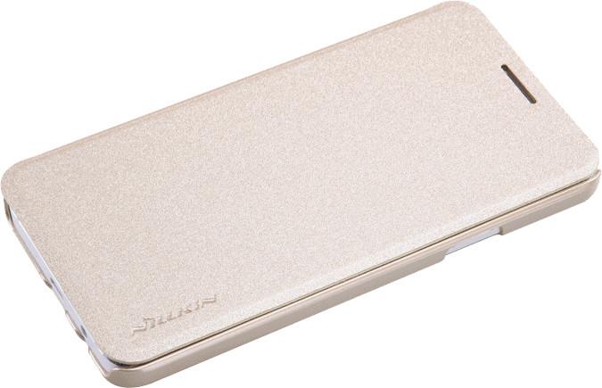 Nillkin Sparkle Folio pouzdro pro Samsung Galaxy A3, zlatá