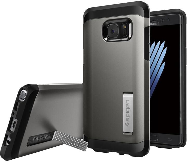 Spigen Tough Armor pro Galaxy Note 7, gunmetal