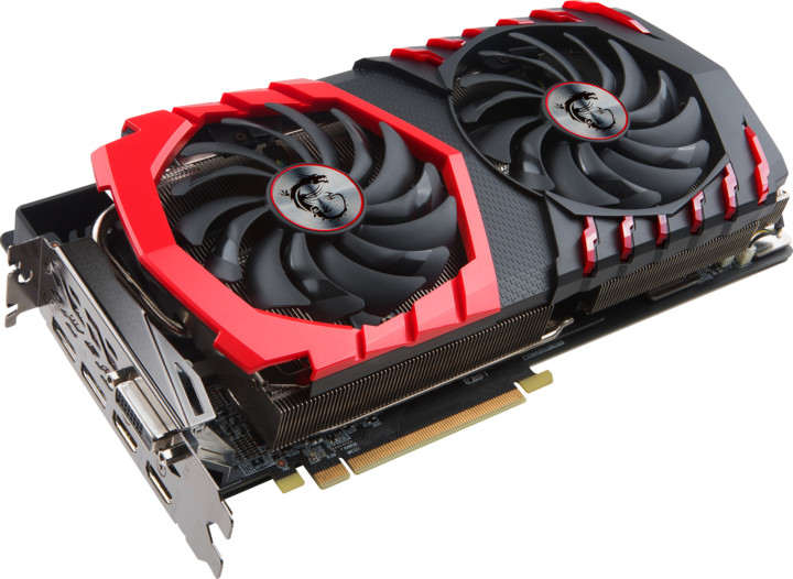 MSI Radeon RX 580 GAMING X+ 8G, 8GB GDDR5