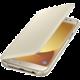 Samsung Galaxy J5 Flipové pouzdro, Wallet Cover, zlaté