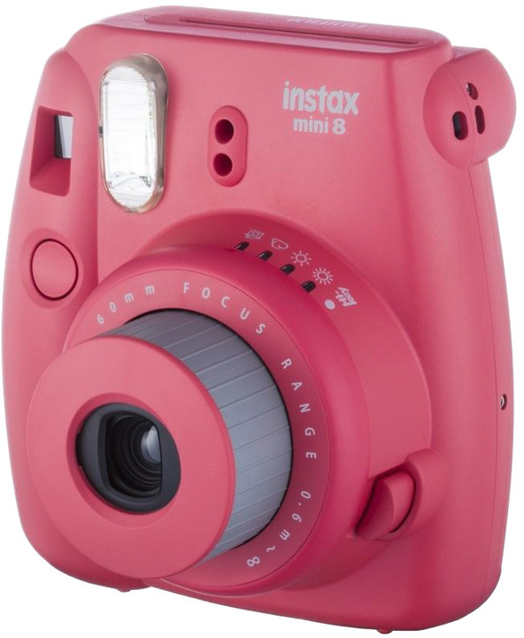 Fujifilm Instax MINI 8, raspberry