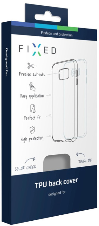 FIXED gelové pouzdro pro Lenovo Vibe C (A2020), bezbarvé