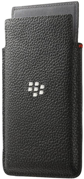 BlackBerry pouzdro kožené pro BlackBerry Leap, černá