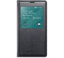 Samsung flipové pouzdro S-View EF-CG900B pro Galaxy S5, černá - EF-CG900BBEGWW