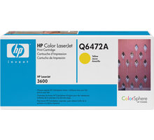 HP Q6472A, žlutý