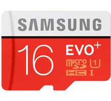Samsung Micro SDHC EVO Plus 16GB - MB-MC16D/EU