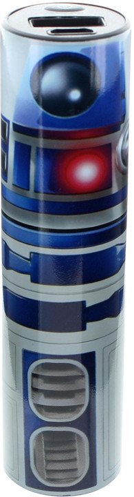 Lazerbuilt Star Wars 2,600mAh Tube R2D2 powerbanka
