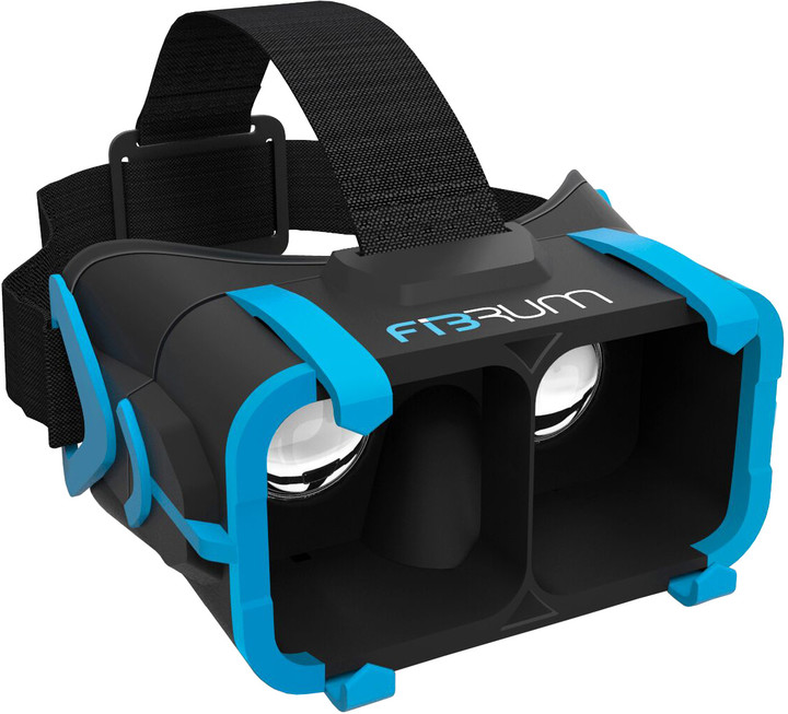 "FIBRUM PRO VR brýle pro Smartphone iOS 4""-5,5"" / Android 4""-6"""