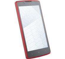 Lenovo A2010, DualSim, červená - PA1J0124CZ + Zdarma SIM karta Relax Mobil s kreditem 300Kč