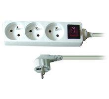 Prodlužovací kabel 230V 1,5m - 3x zásuvka, vypínač - 8595092107406