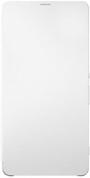 Sony SCR60 Style Cover Flip Xperia XA Ultra, bílá
