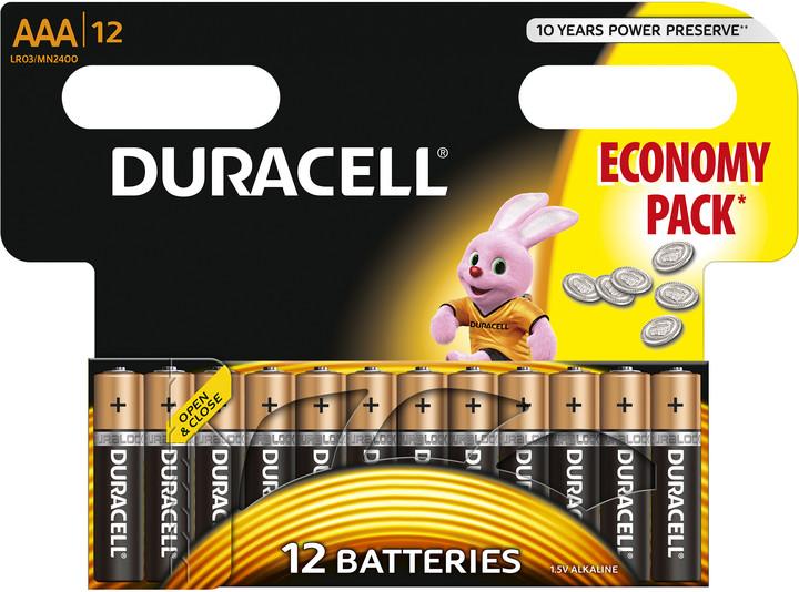 Duracell Basic AAA 12ks