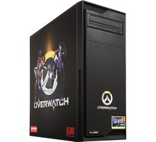HAL3000 IEM Certified PC Overwatch by MSI, černá - PCHS2171 + Intel Extreme Masters - kupón na hry a kredit do her v ceně 7452 Kč