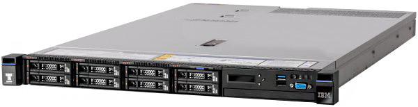 Lenovo System x3550 M5 /E5-2620v3/16GB/Bez HDD/1x750W/Rack
