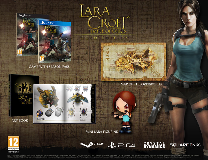 Lara Croft and the Temple of Osiris - Gold Edition - PC