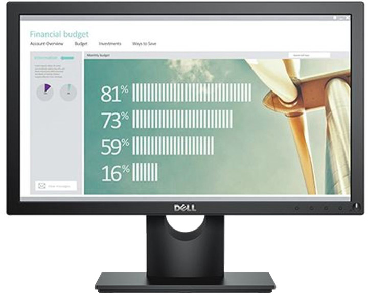"Dell E1916H - LED monitor 19"""
