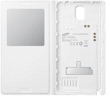 Samsung EF-TN900BW flip S-view Wireless pro Note 3, bílá - EF-TN900BWEGWW