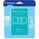 Verbatim Store'n'Go, USB 3.0 - 1TB, zelená