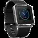 Fitbit Blaze, EMEA, S, černá - stříbrná