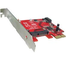 Kouwell PE-115M PCI-E Karta 1x 7pin SATA III AHCI