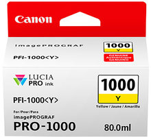 Canon PFI-1000Y, yellow - 0549C001