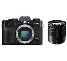 Fujifilm X-T10 + XC16-50mm + XC50-230mm, černá - 16470506