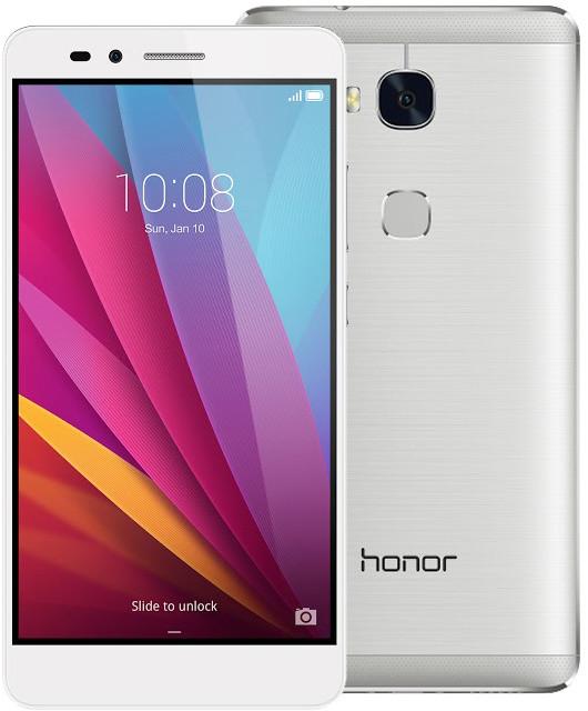 Honor 5X, stříbrná
