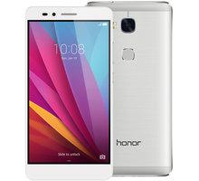 Honor 5X, stříbrná + Zdarma SIM karta Relax Mobil s kreditem 250 Kč