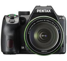 Pentax K-70, černá + DA 18-135mm WR - 16255 + Objektiv Pentax DA 50mm F1.8 v ceně 4690 Kč