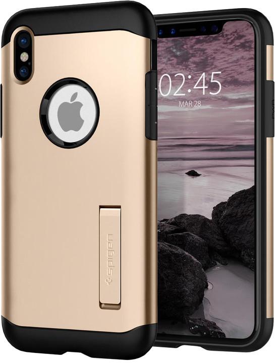 Spigen Slim Armor iPhone X, gold