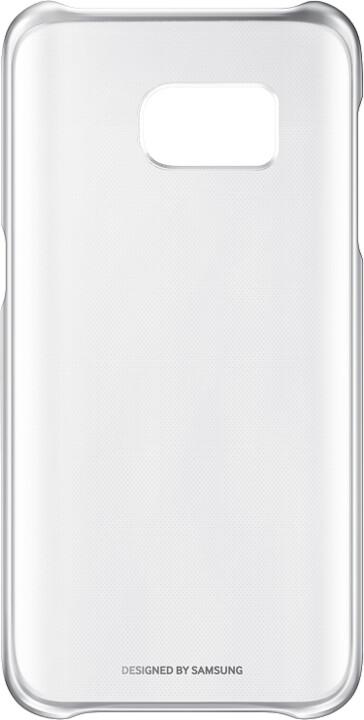 Samsung EF-QG930CS Clear Cover Galaxy S7, Silver