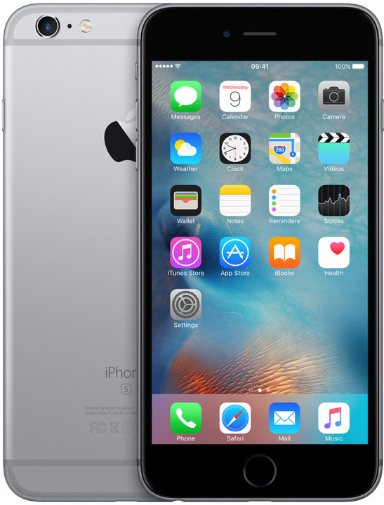 Apple iPhone 6s Plus 128GB, šedá