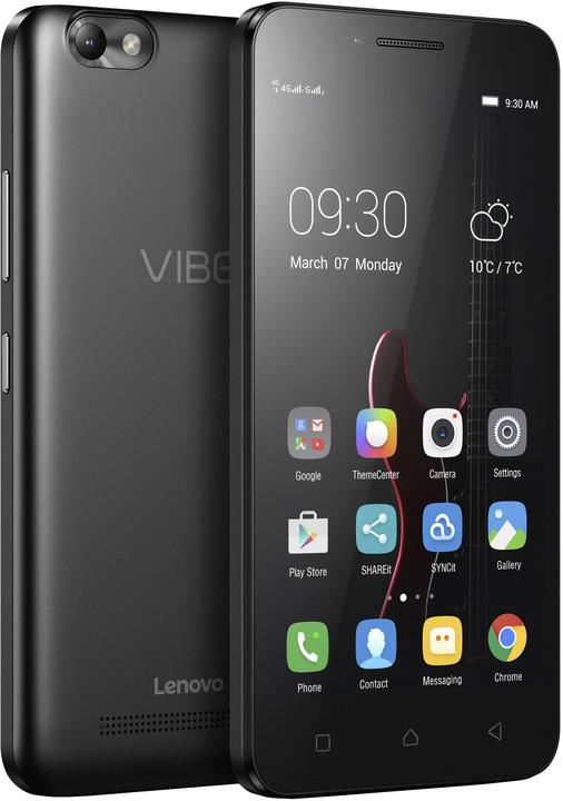 "Lenovo Vibe C 5"" - 8GB, LTE, černá"