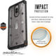UAG plasma case Ice, clear - Huawei Mate 9 Pro