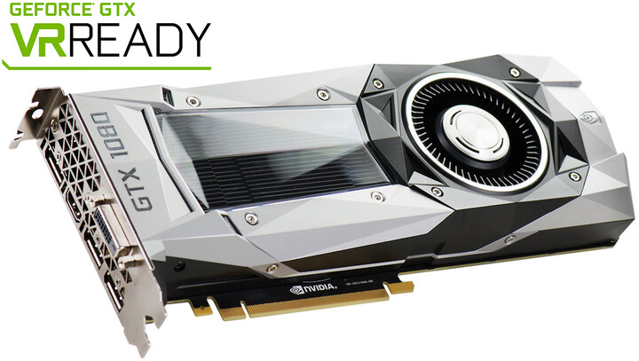 EVGA GeForce GTX 1080 Founders Edition, 8GB GDDR5X