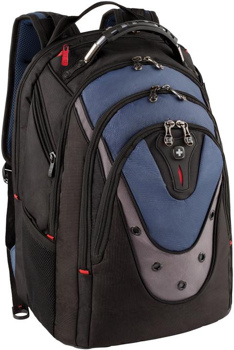 "WENGER IBEX - 17"" batoh na notebook, modrý"