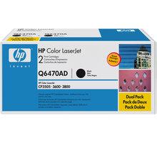 HP Q6470A, černý