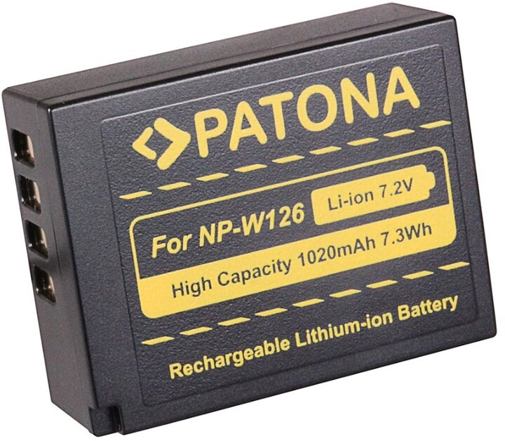 Patona baterie pro Fuji NP-W126 1020mAh Li-Ion