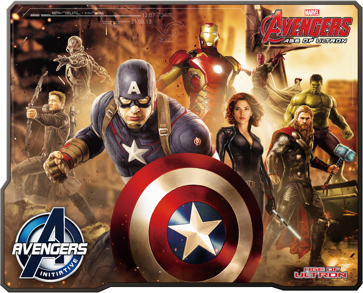 E-Blue Avengers EMP007GO, látková
