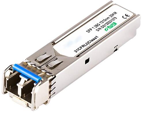 Dell SFP modul, 1Gbit, SM single mode 1310nm, 20km, Dell kompatibilní OEM