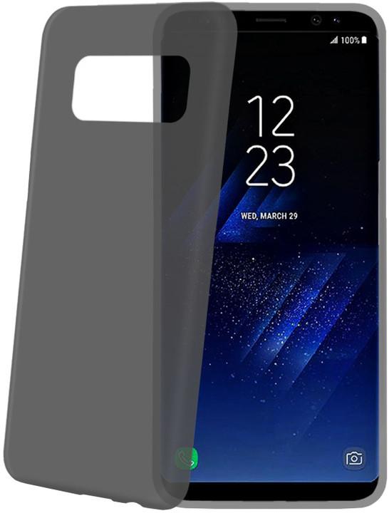 CELLY Frost Ultra tenké TPU pouzdro pro Samsung Galaxy S8 Plus, 0,29 mm, černé